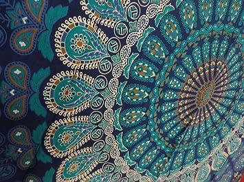 Amazoncom Tapestry Wall Hanging Mandala Tapestries Indian Cotton