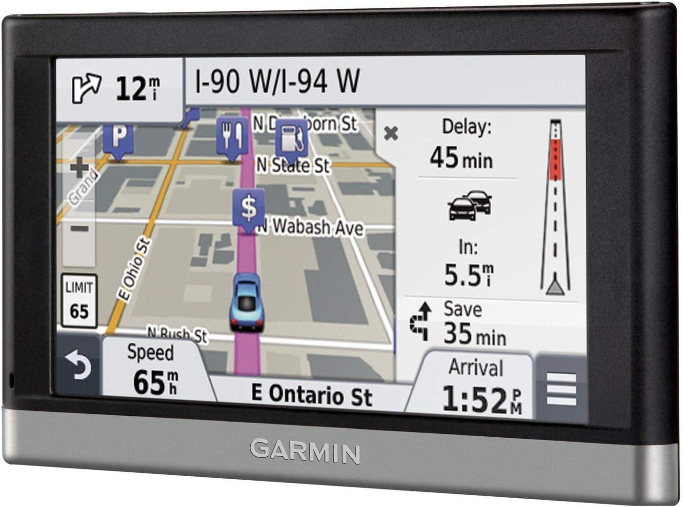 Free Lifetime Map Updates Canada Widescreen Satellite Navigation GPS System Sat Nav 2019 Maps Garmin America USA