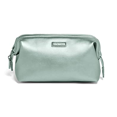 Lipault - Miss Plume Toiletry Kit - Compact Travel Organizer Bag for Women  - Aqua Green 9a1b3c28bcda6