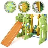 Baby Vivo Schaukel Rutsche Park für Kinder Kinder gerade Folie innen und Außenbereich Spielzeug Garten–Jungle