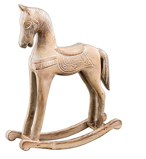 Cavallo A Dondolo Legno Natalizio.Cavallo A Dondolo Ella 25 5 O 32 5 Cm Cavallo In Legno