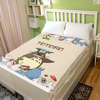 Judy Dre AM Hayao Miyazaki Totoro manta saco de dormir, franela suave y carcasa para
