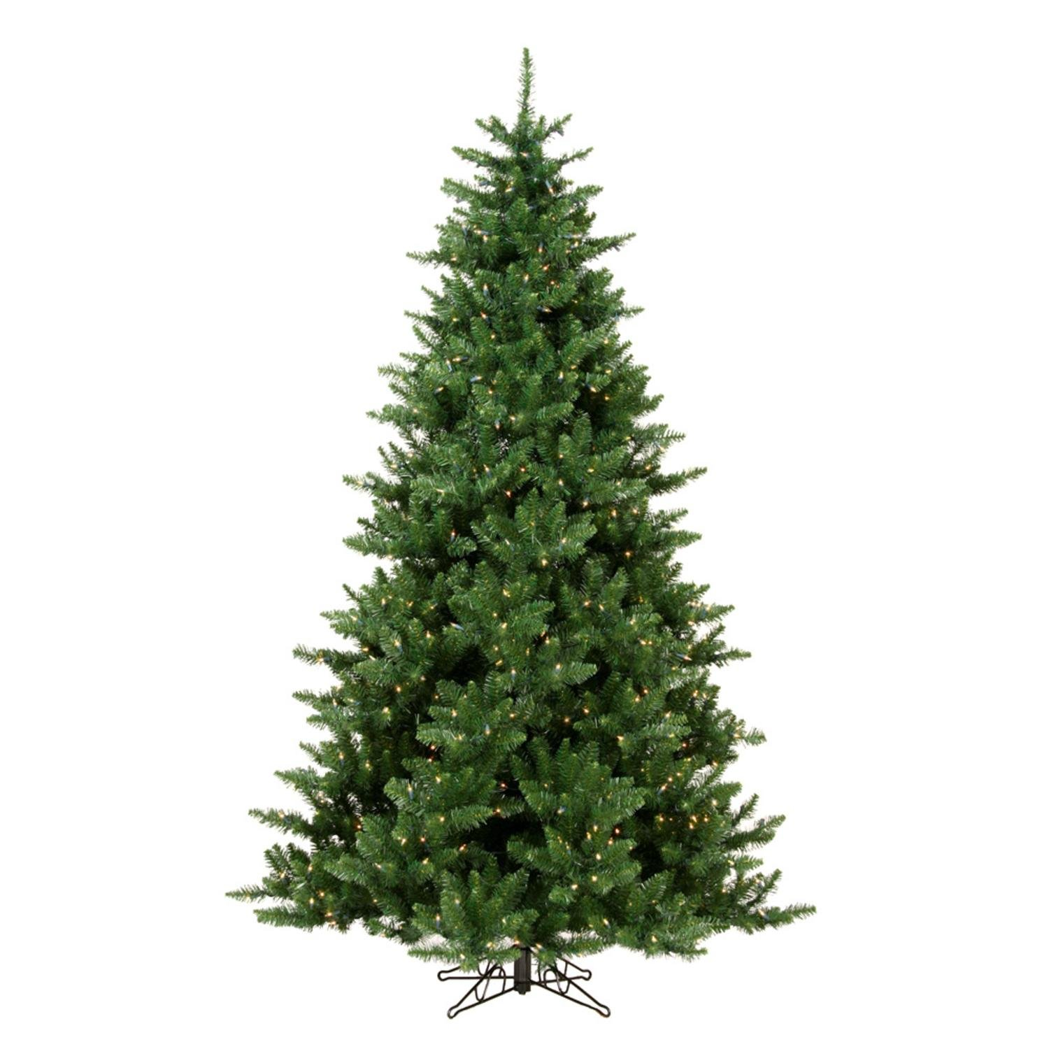 a50c0c21b98 Amazon.com  12  Pre-Lit Northern Pine Full Artificial Christmas Tree - Clear  Lights  Home   Kitchen