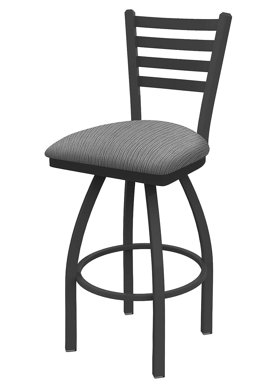 Holland Bar Stool Co. 41036PW020 410 Jackie Swivel Bar Stool, 36 Seat Height, Graph Alpine