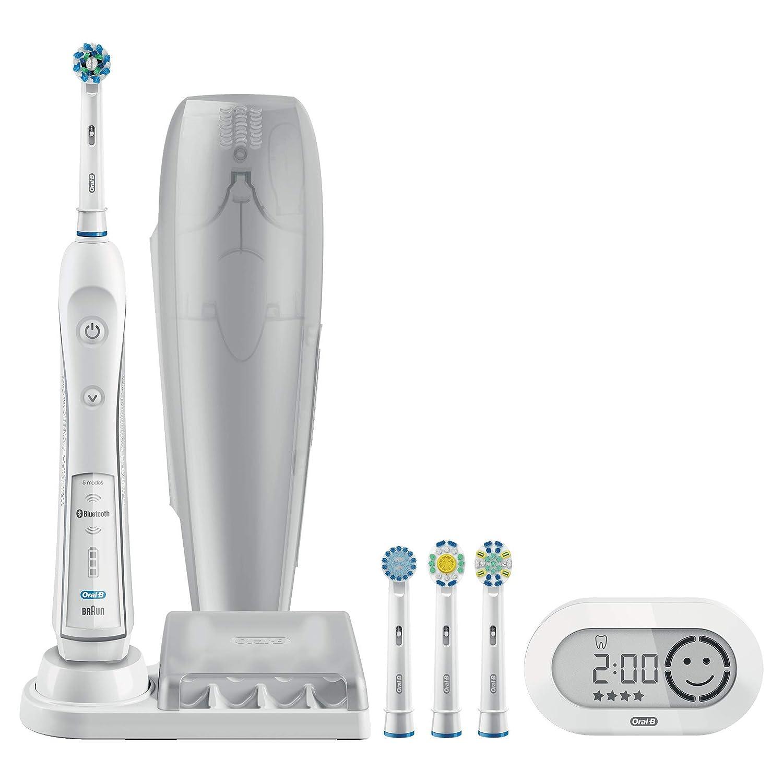 Braun Oral-B PRO 6200 - Cepillo de dientes eléctrico de rotación, color negro - [Importado de Alemania]: Amazon.es: Salud y cuidado personal
