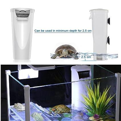 amazon com aquarium waterfall filter reptiles turtle filter for