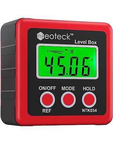Buscador de Ángulo Digital LCD Indicador de Ángulo Digital Inclinómetro de Transportador Impermeable Caja de Bisel