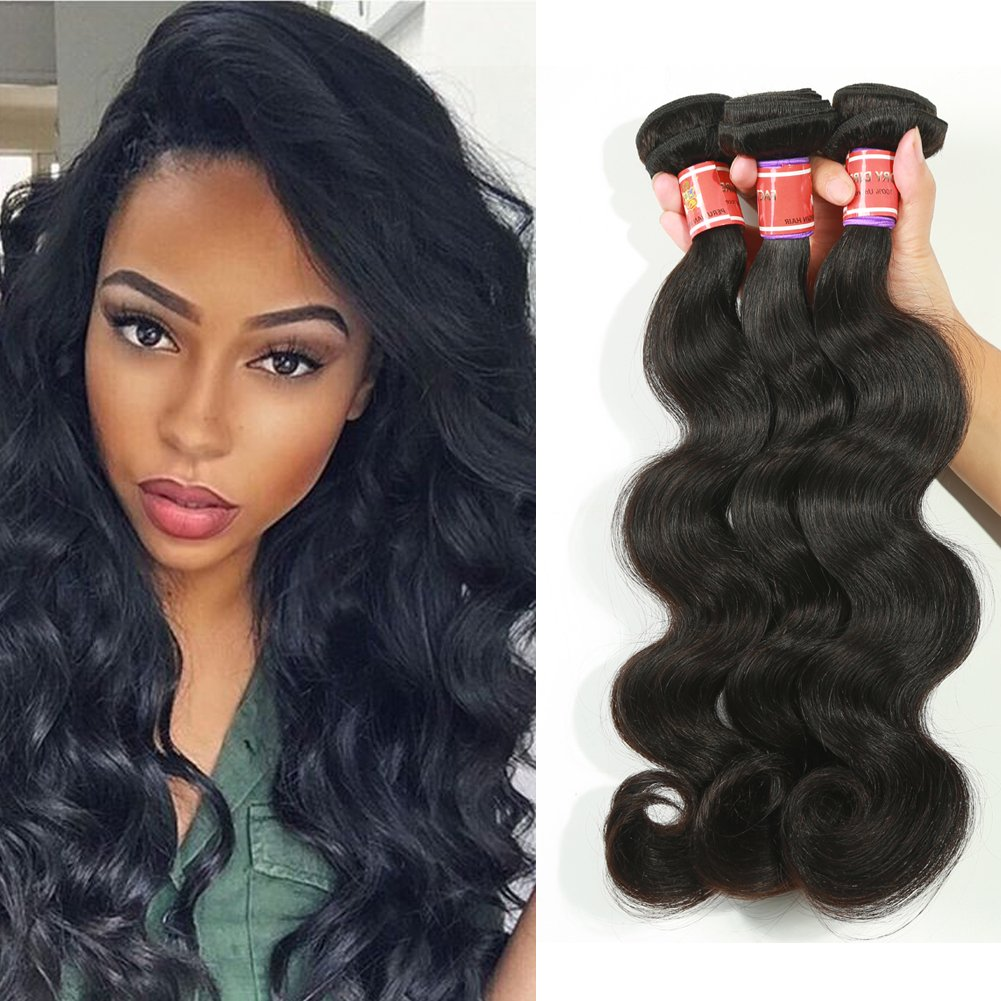 Amazon Great Grace Hair Brazilian Human Virign Hair Weave 3