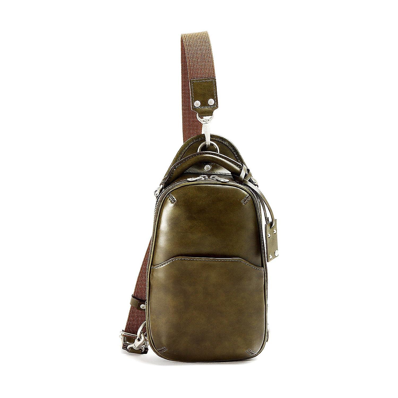 エルゴポック ボディバッグ ワンショルダー Waxed Leather(06 Series) 06-OS B019NX64OU グリーン グリーン