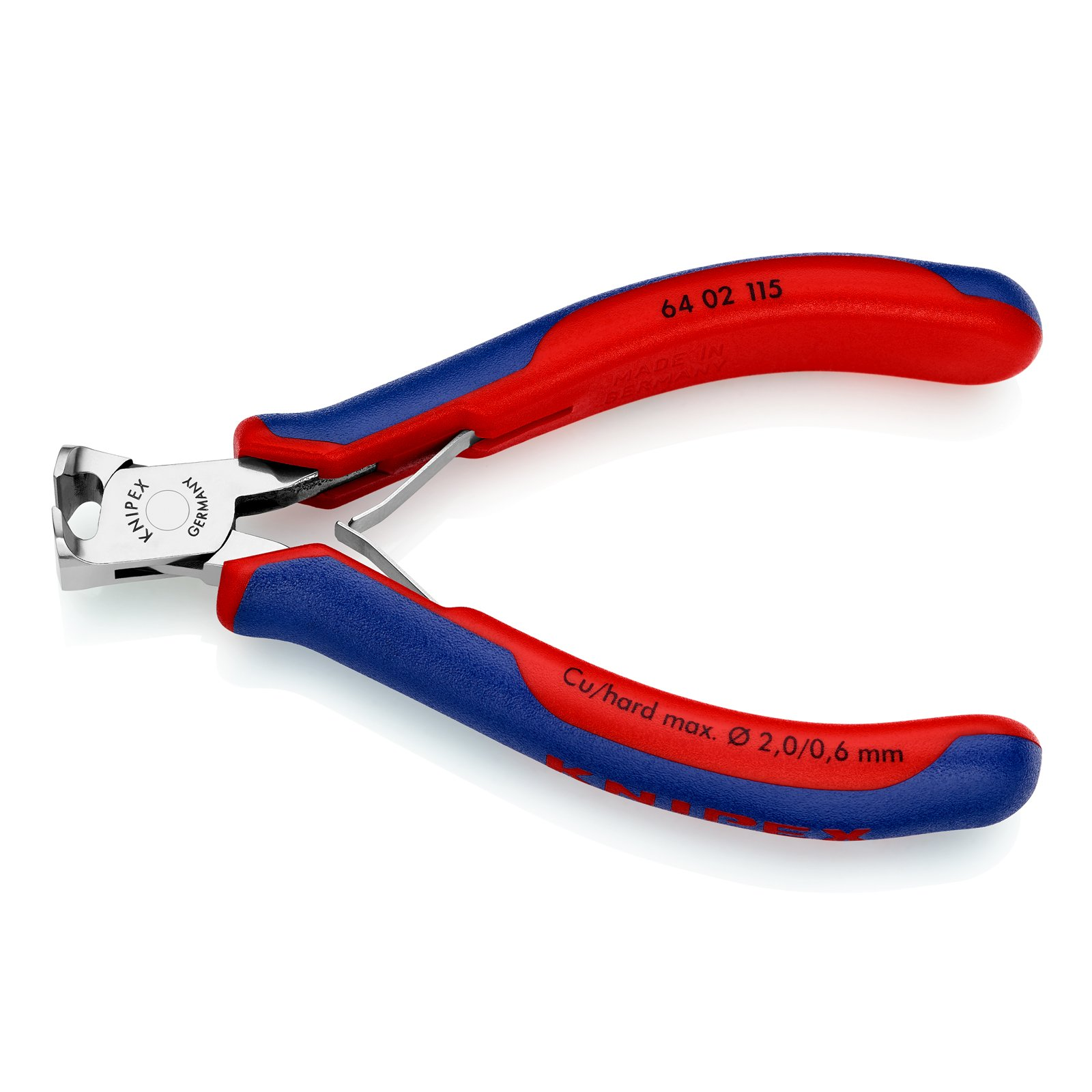 Knipex 64 02 115 Electronics End Cutting Nippers 4,53'' with soft handle by KNIPEX Tools (Image #2)