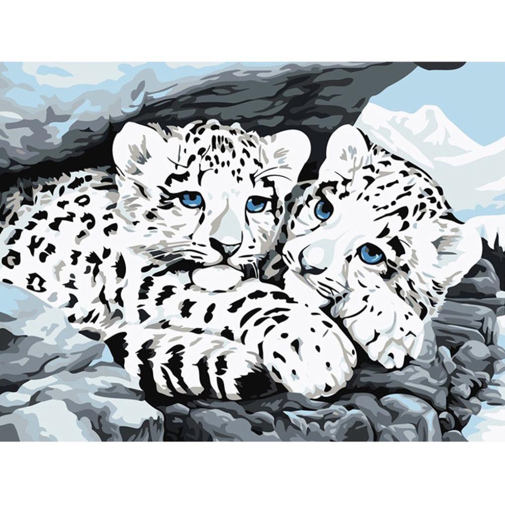 5D Diamant Painting Full,Stickerei Gemälde Strass Kunst Animal Katze Hund Leopard Pferd Monkey Eule DIY Diamand Malerei Kreuzstich Schlafzimmer Wohnzimmer Office Dekoration (25x20cm) (25 x 20 cm, N) Xiantime Diamant Painting 5D