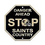 Fremont Die NFL New Orleans Saints Stop Sign