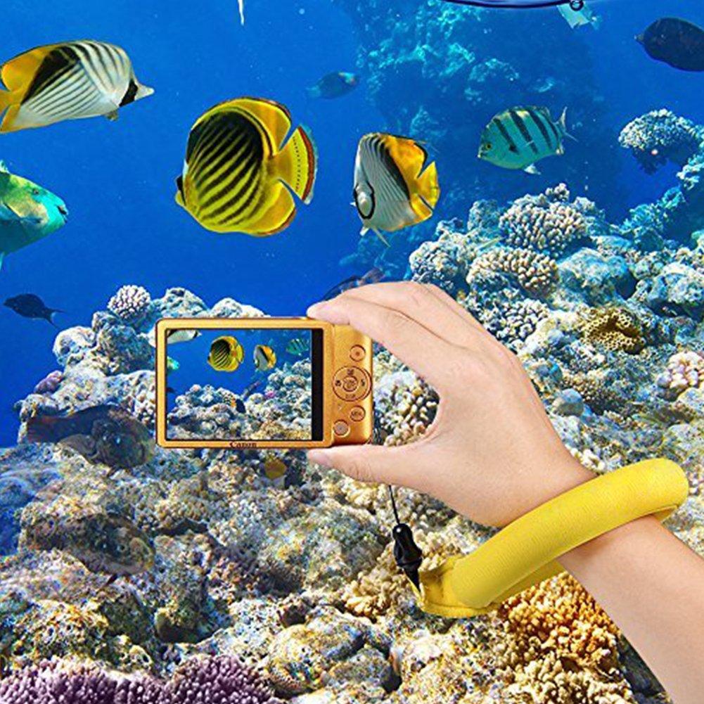 Waterproof Camera Float Foam Floating Wrist Strap for GoPro Nikon Olympus Canon Keys Sunglasses and Phones
