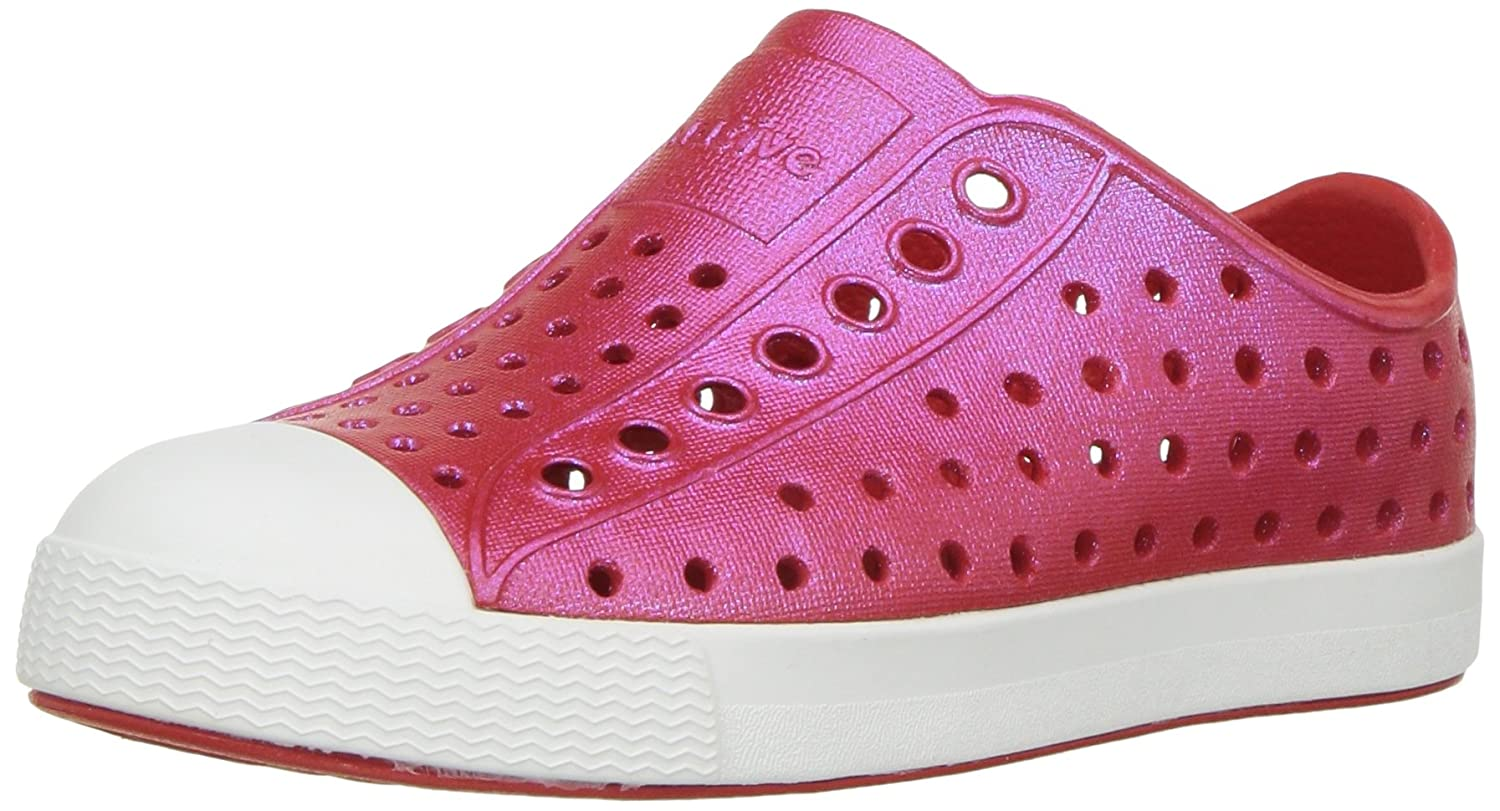 Torch Red//Shell White//Galaxy Iridescent native Kids Jefferson Iridescent Child Shoe 5 Medium US Toddler