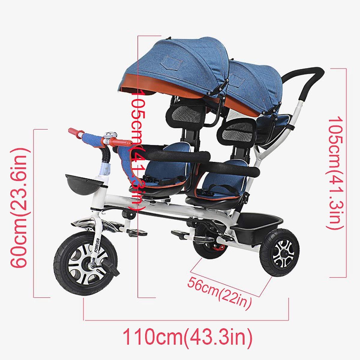 Relubby Triciclo Cochecito para Niños Pequeños Y Bebés, Carro ...