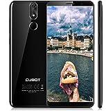 Cubot Power SmartPhone 4G, 5.99 Pollici (18:9) Schermo Android 8.1 Telefono, Octa-Core MT6 763T 2.5GHz, 6GB RAM + 128GB ROM, 20MP+13MP Camera,Dual Sim,Fingerprint Sensor,Wifi,GPS Cellulare- Nero