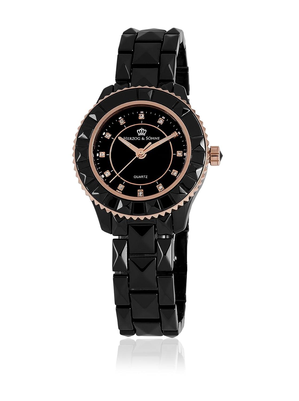 Herzog & SÖhne Damen-Armbanduhr XS Analog Quarz Keramik HSW0A-622C