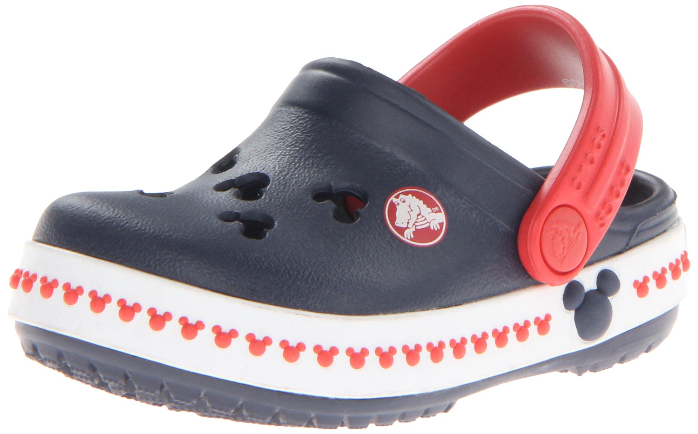 crocs 14609 CB Mickey 3 Clog (Toddler/Little Kid),Navy/Red,12 M US Little Kid