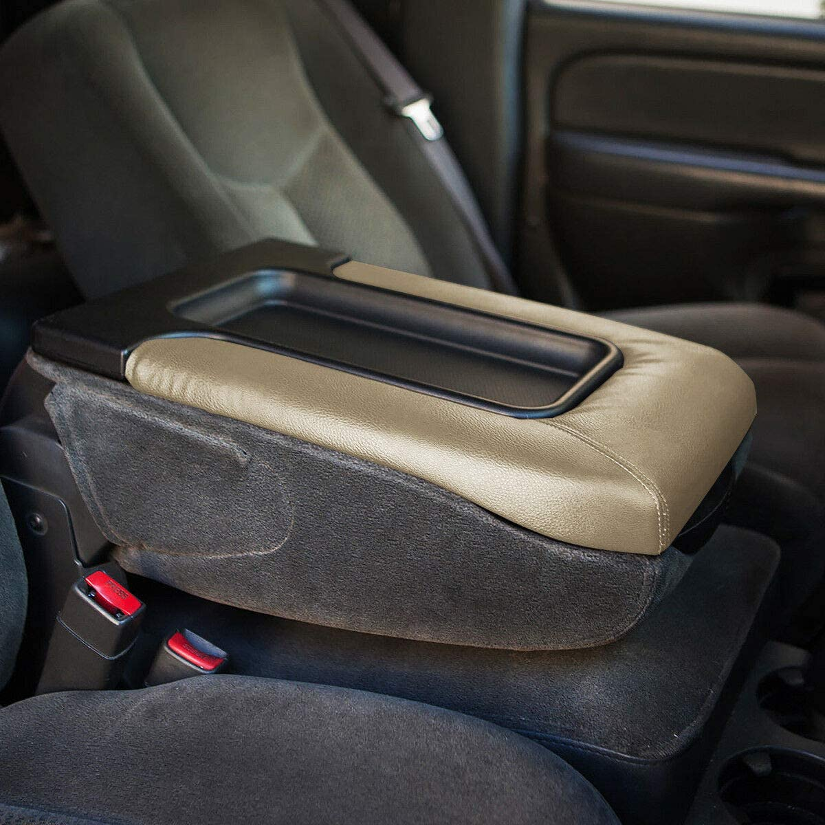 LSAILON Center Console Organizer Lid Repair Kit Best for 99-09 for Volkswagen R32 Black