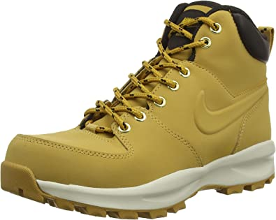 50% rebajado otra oportunidad captura Amazon.com: Nike Manoa Leather (GS) Women Boots Brown 472648 700 ...
