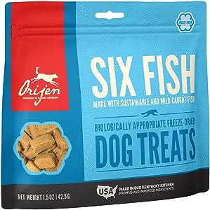 ORIJEN Freeze Dried Dog Treats, Grain Free, High Protein, Made in USA