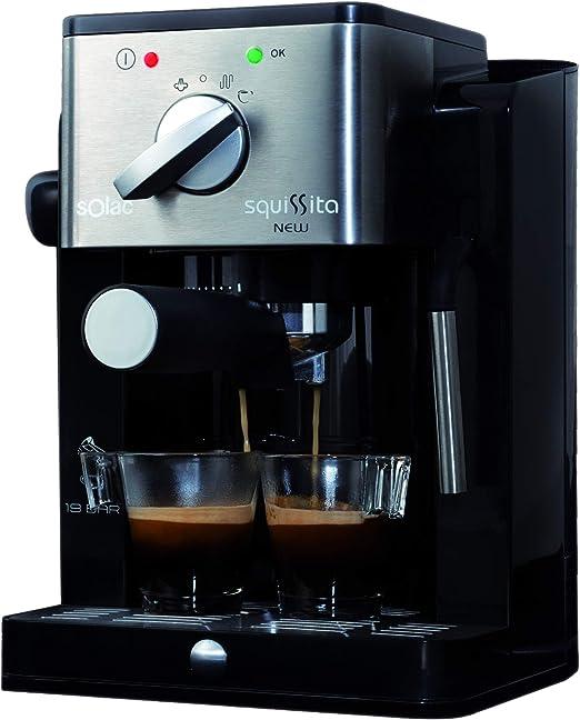 Solac Squissita NEW CE4491 Cafetera Express, 900 W, 0 Decibeles ...