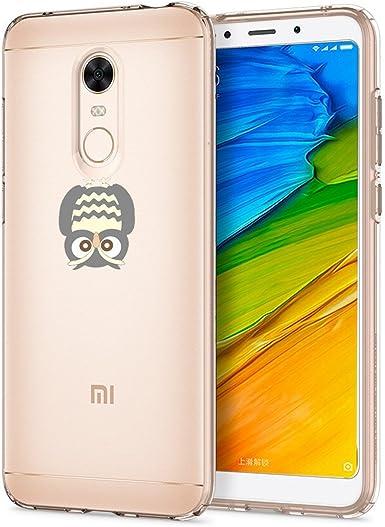 Caler Funda Xiaomi Redmi 5 Plus Case, Suave TPU Gel Silicona ...