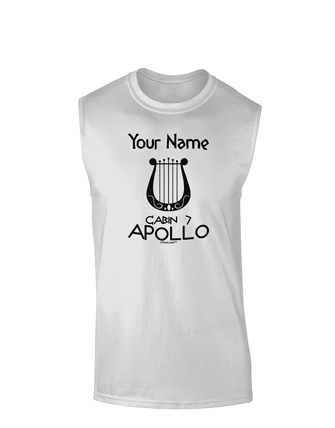 TooLoud Personalized Cabin 7 Apollo Muscle Shirt