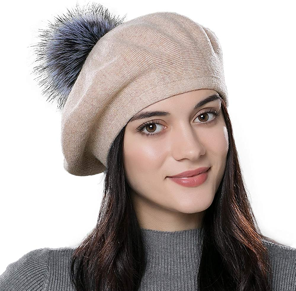 Women Winter French Beret...
