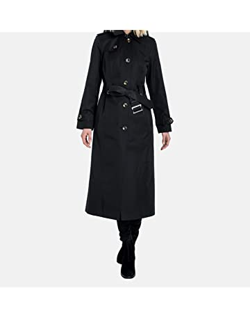 90fd4691c2c London Fog Women's Single-Breasted Trench Coat with Belt