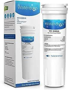 Waterdrop 836848 cartucho de filtro de agua para nevera ...