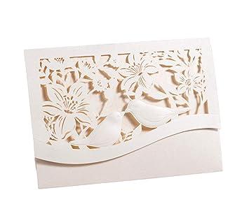 Geldgeschenk Karte.Geldgeschenk Karte Amore Mini Elfenbeinfarben Turteltauben