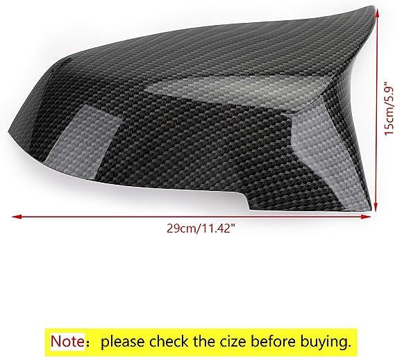 /à partir de 2014 Couvertures de r/étroviseur en fibre de carbone pour i3