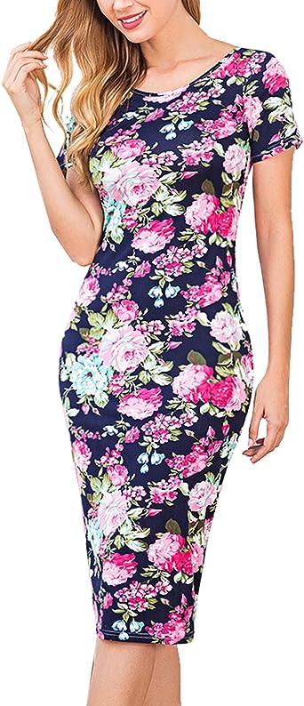 Pregnant Womens Autumn New Jumper Dress Maternity Long Sleeve Mini Bodycon Dress