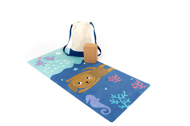 Duck Duck Dog ♡ ECO-LUX Yoga MATS for KIDDOS ♡ The DEEP SEA Flow Yoga MAT!