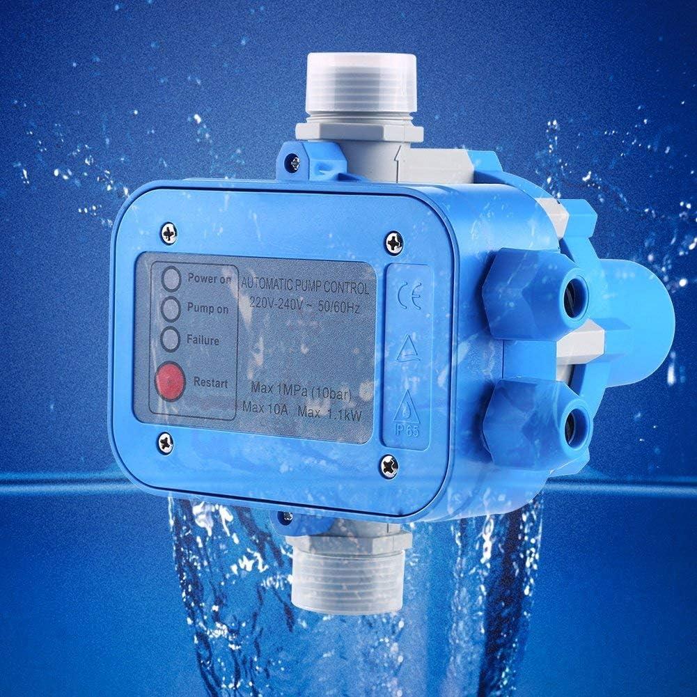 10 bar Wasserpumpe Controller Automatische Wasserpumpe Druckregler Auto Control Unit Elektronischer Schalter 10A 1Mpa Automatischer Wasserpumpen-Druckregler