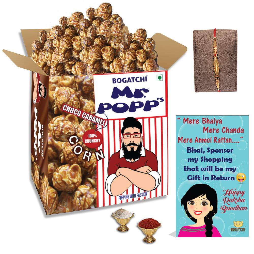 BOGATCHI Mr.POPP's Dark Chocolate Popcorn