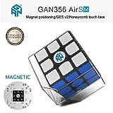 Roxenda Gan 356 Air SM Magnetic Speed Cube Ganspuzzle Professional 3x3x3 Speedcube Black