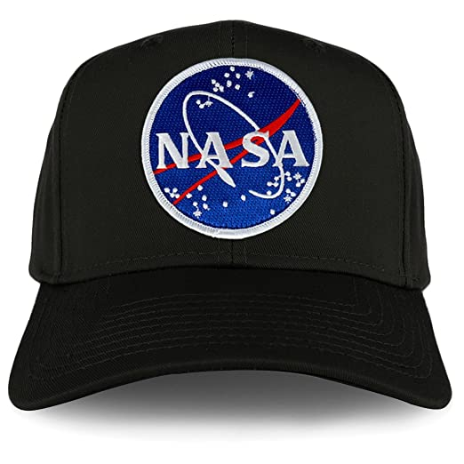 510154873 Armycrew XXL Oversize NASA Meatball Logo Iron On Patch Solid Baseball Cap