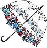 Fulton Birdcage 2 Dome Shape Umbrella Wild Flowers - New!