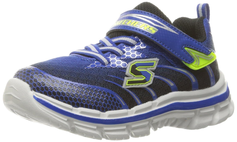 Skechers Kids Nitrate Velcro Strap Sneaker Little Kid//Big Kid
