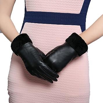 7fc437ec8796ed HOMEE Gants pour écran tactile Chaude et confortable à porter,Noir,X-Large