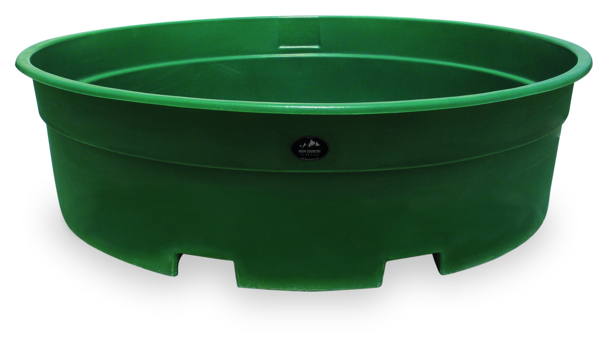High Country Plastics W-700FG Water Tank, 700 Gallon, Forrest Green