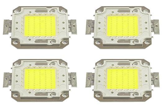 8 opinioni per Pack 4 Piastrine LED di ricambio fari LED luce fredda 6500k da 50 watt. MWS