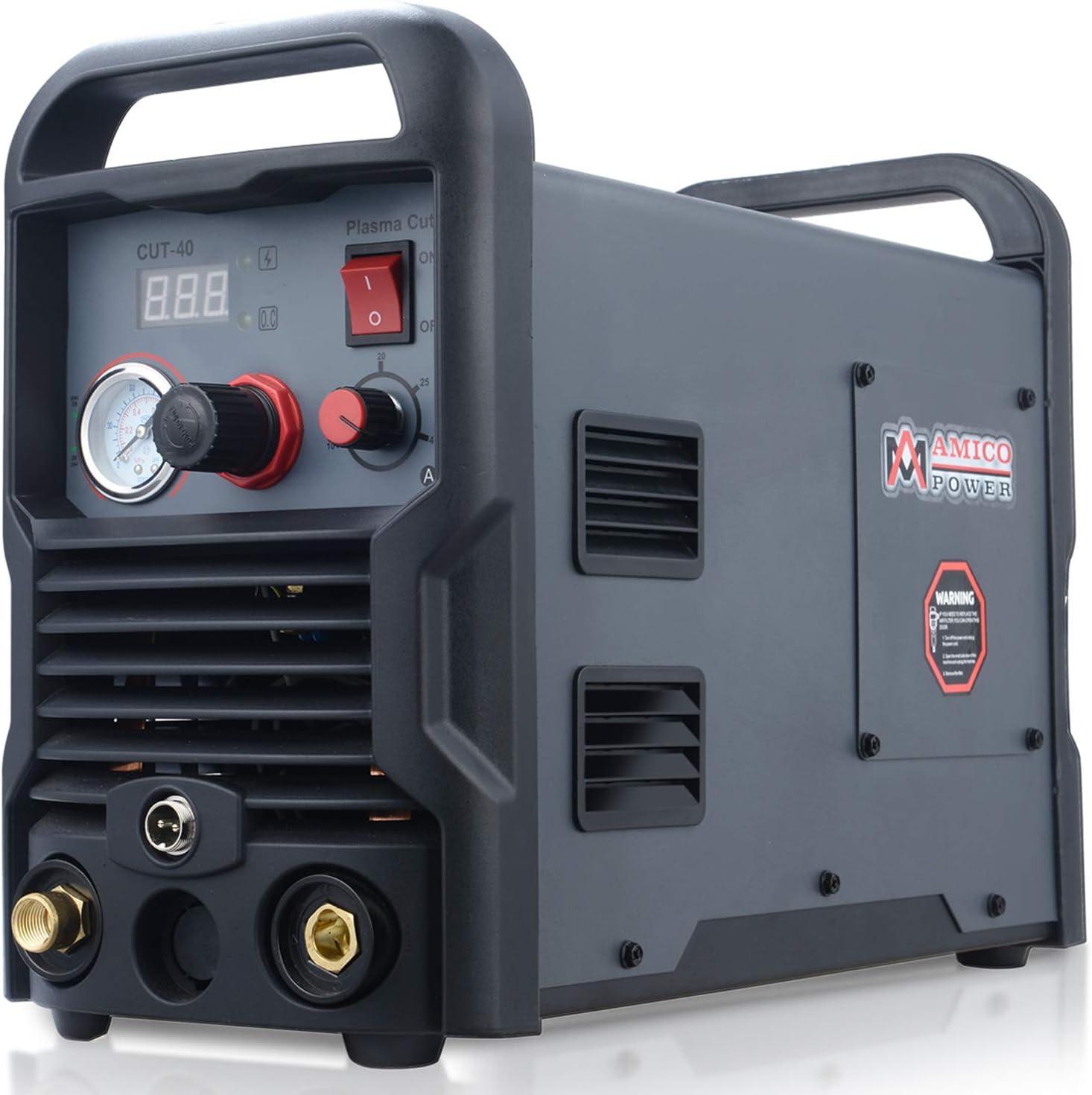 CUT40 Plasma Cutter 220V Electric Digtal Air Plasma Cutting Machine Inverter UK