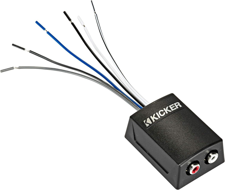 Kicker 46KISLOC2 K-Series Stereo Line-Output Converter w/Remote Turn-On Output