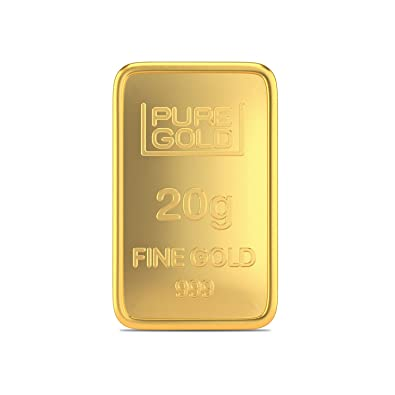 Buy Joyalukkasayer Certified K 999 Yellow Gold Precious Gold Bar Online At Low Prices In India Amazon Jewellery Store Amazon In