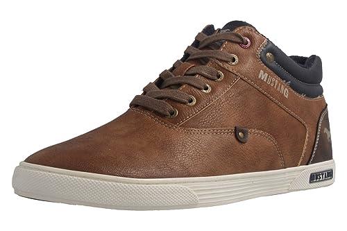 Marrón Mustang Zapatos Para Cordones De Hombre Color Marrón wgwqFT