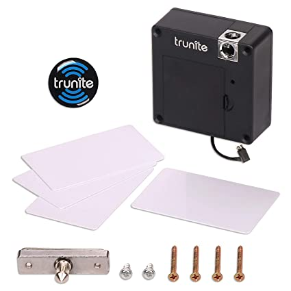 Invisible Cabinet Lock, Trunite RFID Card Unlock Hidden Drawer Mini