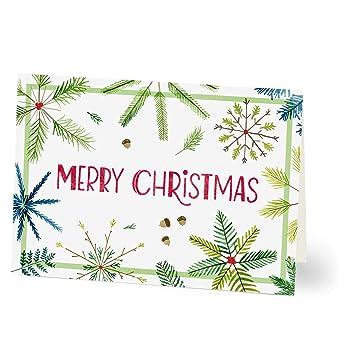 Business Christmas Cards.Amazon Com Hallmark Business Christmas Cards For Employees
